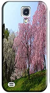 Fantastic Faye Cell Phone Cases For Samsung Galaxy S4 i9500 No.10 The Beautiful Design With Japanese Cherry