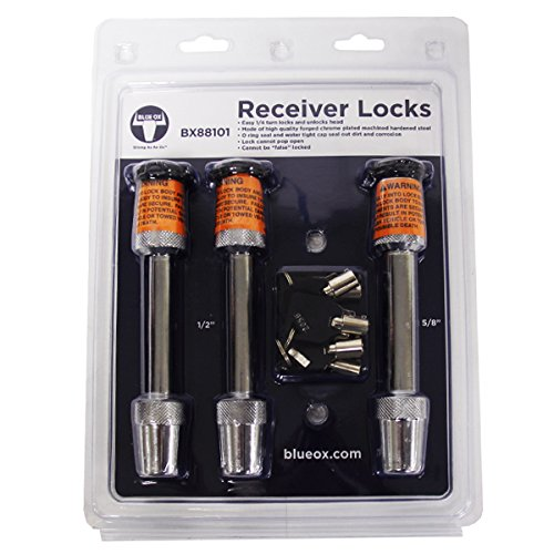 - Blue Ox BX88101 two 1/2 locks and one 5/8 Lock Kit