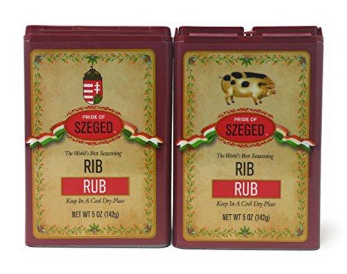 Szeged - Rib Rub / Gourmet Rub / 2 -5 Oz. Tins