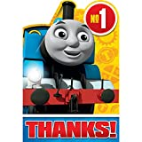 8 Thomas the Tank Engine Train Birthday Party Thank You Postcard Notes