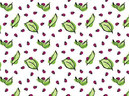 Ladybug Wrap Gift - LADYBUG TISSUE PAPER, Style 1 - Printed Tissue Paper for Gift Wrapping with Design, 24 Large Sheets (20x30)