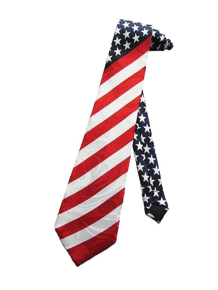 Steven Harris para hombre la bandera americana EE. UU. Corbata ...
