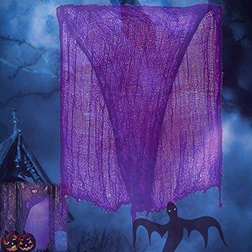 FATHER.SON Halloween Creepy Cloth Decoration Halloween Party Decorations.(6.8ft x 150