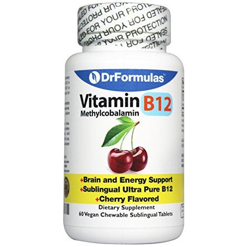 DrFormulas Methylcobalamin Supplement Chewable Sublingual