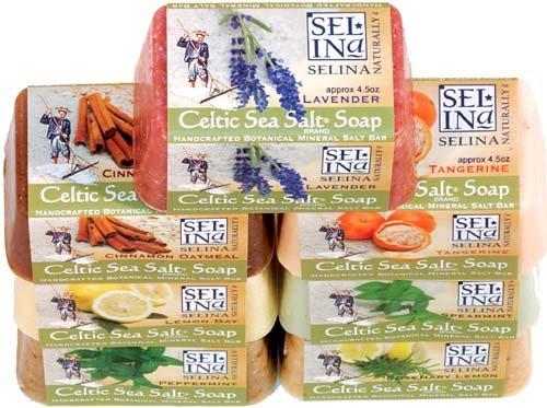 Celtic Sea Salt Soap Sampler (Pack of 7)
