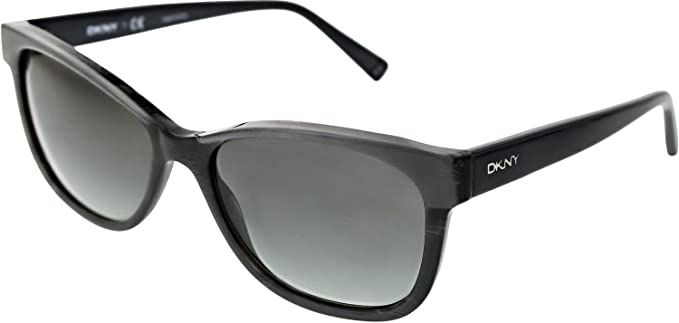 Amazon.com: DKNY DY4086 Gafas de sol 343811 Gray/Negro Gris ...