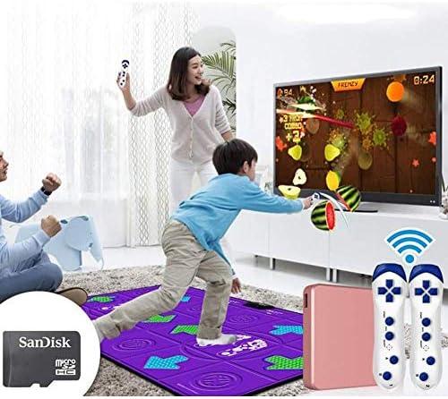 ダブルダンスマットテレビとコンピューターのデュアルユース大人の子供体性感覚材料快適なマッサージブランケット
