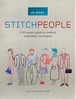 Do it yourself stitch people 9780578150116 books amazon stitch people a 20 project guide to modern embroidery techniques solutioingenieria Choice Image