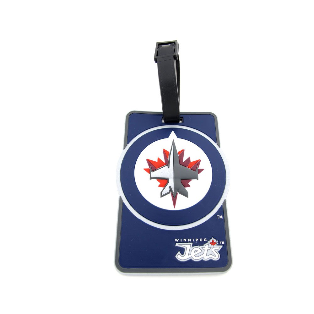 Winnipeg Jets Luggage Tag JF Sports JTSLUG