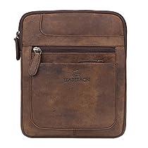 Leaderachi Men's Muskat Hunter Leather Sling Bag - Taranto