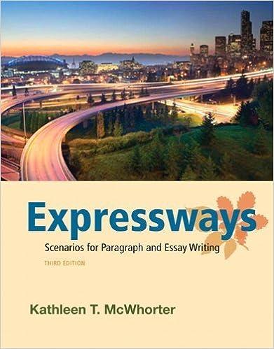 Expressways by McWhorter, Kathleen T.. (Longman,2012) 3rd EDITION