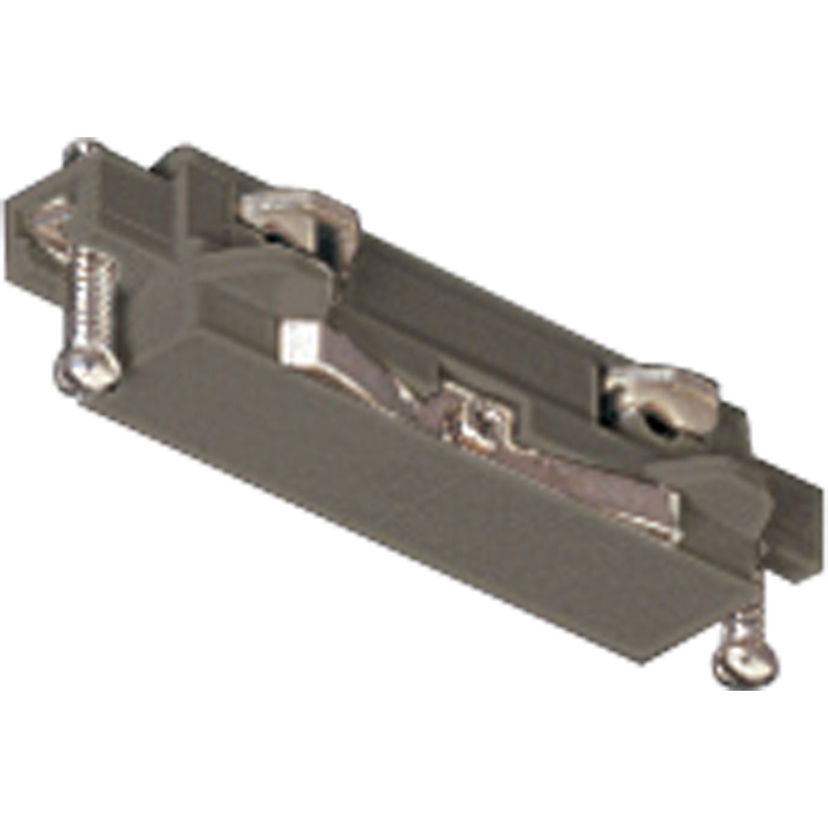 Progress Lighting P8720-09 Straight Connector For Joining 2 Or More Track Sections The Connectors Plug Into Track Sections Only 1 Way, Brushed Nickel