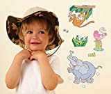 Jungle Safari Nursery and Bedroom Wall Stickers