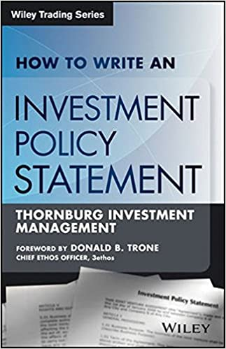 How To Write An Investment Policy Statement Rocco Dibruno