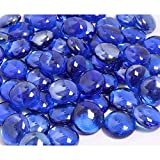KIBOW 10-Pound Pack Fire Glass Beads Fire Glass Drops for Gas...