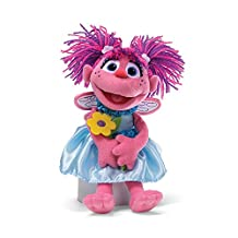 Gund Sesame Street Everyday Abby Holding Flowers 11-Inch Plush