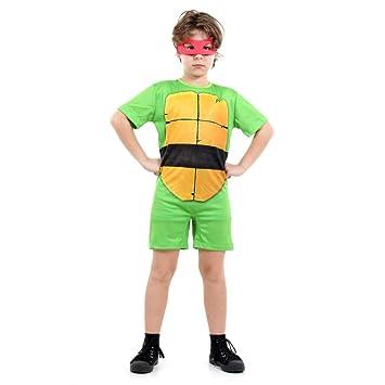 558109249 Fantasia Tartarugas Ninjas Raphael Pop Infantil Sulamericana Fantasias M  6 8 Anos