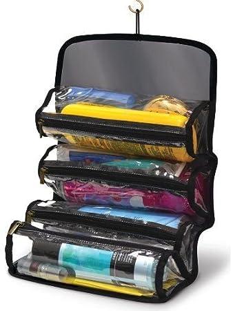 Amazon.com: Bolsas de maquillaje neceser organizador de baño ...
