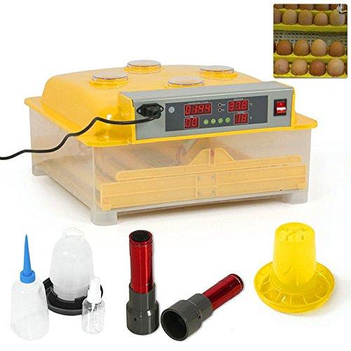 Quality1st-2016 48 Eggs Mini Digital Transparent Chicken Duck Goose Egg Incubator Egg Hatcher by Quality