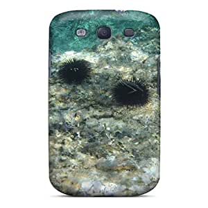 New Style Tpu S3 Protective Case Cover/ Galaxy Case - Sky Diving Greece Tasos Sea Urchin My Best