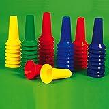 Juniors Activity Boundaries Divide Rainbow Floor Markers Set Of 48 Assorted Colour