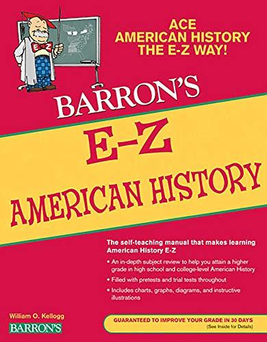 E-Z American History (Barron's Easy Series)