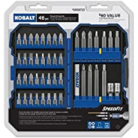 Kobalt 46-Piece Screwdriver Bit Set