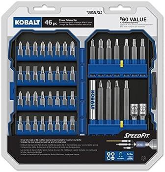 Kobalt 46-Pc. Screwdriver Bit Set