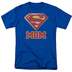 Trevco Inc Womens Superman Super Mom T-Shirt