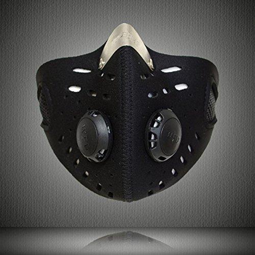 Outdoor Hiking Travel Dustproof Motorcycle Riding Bike Ski Half Face Mask Filter -