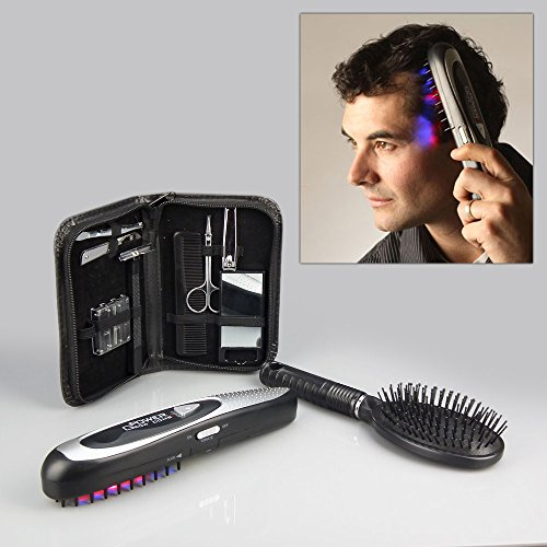 Light Therapy Hair Growth Comb with Deluxe Grooming Kit