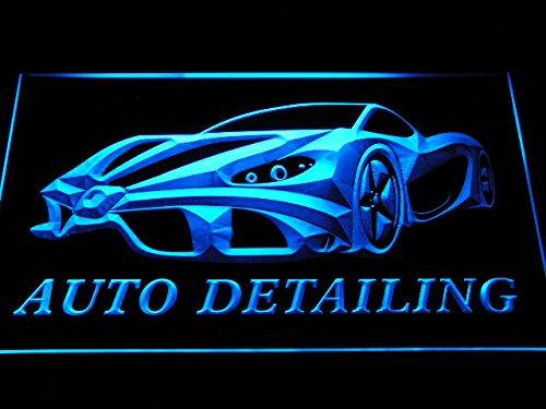 ADV PRO s233-b Auto Detailing Detail Car Wash Neon Light Sig