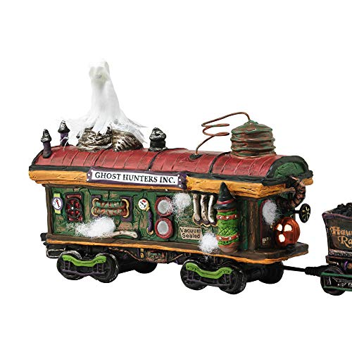Department 56 Village Halloween Scary Ghost Hauler Lit House ()