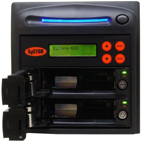 SySTOR 1:1 SATA Hard Disk Drive / Solid State Drive (HDD/SSD) Clone Duplicator/Sanitizer (SYS101HS)