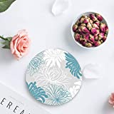 Set of 4 Coasters for Drinks, Absorbing Stone