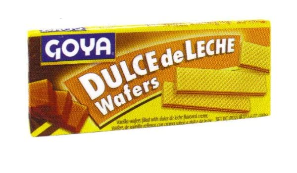 Amazon.com : Goya Dulce De Leche Wafers 5.6 oz : Fresh Bakery Wafer Cookies : Grocery & Gourmet Food