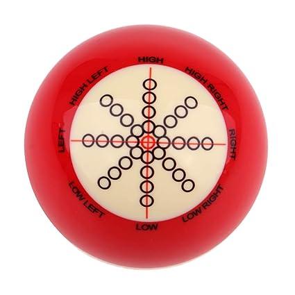 Baosity Standard Resin Pool Training Cue Ball for Billiard Beginner Learner  Practicing Accessories