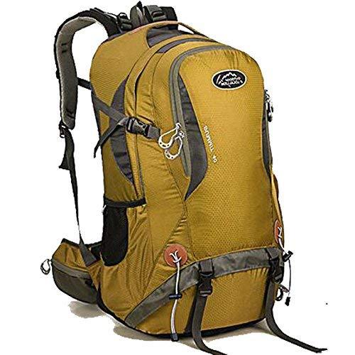 Lounayy Capacity Bergsteigen High Outdoor Mode Wandern Multifunktions Stylisch Tasche Rucksack Frauen Sport Camping Tasche (Farbe   Gelb, Größe   One Größe)