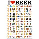 I LOVE BEER - 24x36 - ART PRINT / POSTER