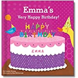Personalized Custom Birthday Book for 1st First Second...