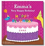 Happy Birthday Personalized Custom Name Book for Girls| First Birthday Gift | I See Me!