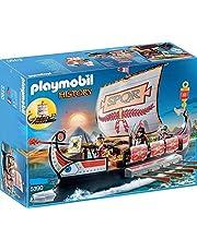 Playmobil 5390Galea Romana con Rostro + Playmobil 5391Biga Romana