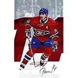 Tomas Plekanec Hockey Card 2016-17 Montreal Canadiens Postcards #17 Tomas Plekanec