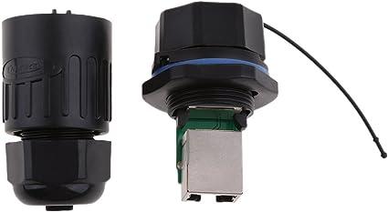 Ethernet Lan Rj45 Stecker Wasserdicht Steckverbinder Bajonettanschluss Oder Schnell Einstecken Baumarkt