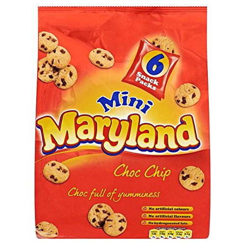 Maryland Mini Chocolate Chip Cookie 6 Pack