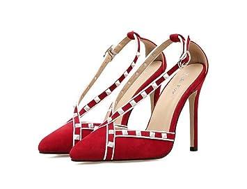Onfly Frauen Pump 11cm Point Toe D Orsay Kleid Schuhe