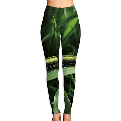 Amazon.com: Cooby Roman Womens Yoga Leggings Pants Toys Car ...