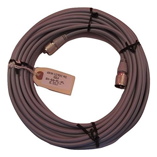 (Workman 8X-50-PL-PL CB RADIO 50` FOOT COAX CABLE RG8X (MINI 8) MOLDED ENDS)