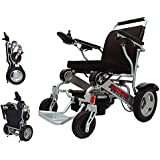 Porto Mobility Ranger D09 Lightweight Foldable Weatherproof Exclusive Electric Wheelchair, Portable, Brushless Powerful…