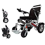 Porto Mobility Ranger D09, #1 Best Rated Weatherproof Exclusive Portable Power Wheelchair, Lightweight, Only 50 lbs Dual Battery Dual Motor Electric Wheelchair